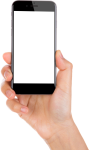 Hand Holding Phone - Hand Holding Phone Png, Transparent Png