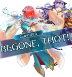 Could I Get Special Ny Gunnthra With Lens Flare Eyes - Feh New Years Gunnthra, HD Png Download