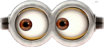 Minion Eyes Png - Minions Eyes, Transparent Png