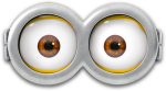 Goggles Clipart Minion - Minion Eyes, HD Png Download