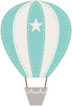 Free Png Download Baby Hot Air Balloon Png Images Background - Baby Hot Air Balloon Clipart, Transparent Png