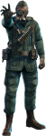 Post - Person With Gas Mask Png, Transparent Png