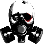 Gas Mask Png Pic - Skull Gas Mask Png, Transparent Png
