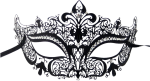 Masquerade Ball Mask Png Graphic Library Stock - Masquerade Mask Png Transparent, Png Download