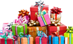 Pile Of Birthday Gifts Png , Png Download, Transparent Png