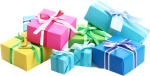 Birthday Presents Png Clipart - Gift Png, Transparent Png