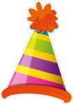 Gift Clipart Birthday Accessory - Birthday Cap Png File, Transparent Png