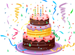 Happy Birthday Png - Birthday Cake Png, Transparent Png