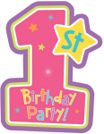 1st Birthday Candle Png - Happy 1st Birthday Png, Transparent Png
