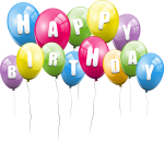 Happy Birthday Transparent Png Pictures - Transparent Background Birthday Balloon, Png Download