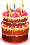 Page 2 Birthday Cake Vector Png - Happy Birthday Chocolate Cake Png, Transparent Png