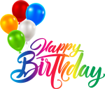 Birthday Cake Greeting & Note Cards Clip Art - Transparent Happy Birthday Png, Png Download