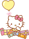 Hello Kitty Png Cumpleaños - Hello Kitty 40th Birthday, Transparent Png