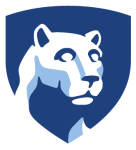 Nittany Lion Shield Avatars - Penn State Logo, HD Png Download