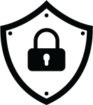 Security Shield Clipart Security Service - Personal Data Protection Icon, HD Png Download