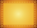 Gold Certificate Background Png - Gold Certificate With Border Simple, Transparent Png