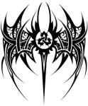 Wings Tattoo Png High-quality Image - Triquetra Tribal Tattoo, Transparent Png