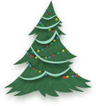 Pony Christmas Tree Credit Free Vector By Poniesfromheaven-d5mjc97 - Free Christmas Tree Vector Png, Transparent Png