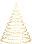 Christmas Tree Vector - Transparent Background Christmas Tree Png, Png Download