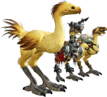 Eorzea De Chocobo For Piano Solo From Final Fantasy - Ffxiv Chocobo, HD Png Download