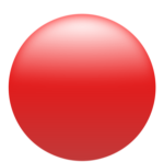 Red And Green Circle Icon - Red Circle Button Png, Transparent Png