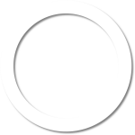 White Circle Outline Png Www Imgkid Com The Image Kid - Картинки Черно Белые Круг, Transparent Png