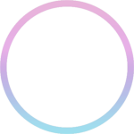 Outline Circle Pastel Sticker By Nwright8513 - Circle, HD Png Download