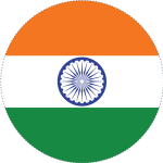 Indian Flag Regional Circle - Indian Flag In Circle, HD Png Download