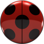 Miraculous Ladybug Buttons - Circle, HD Png Download