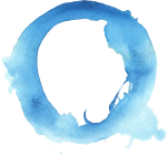 6 Blue Watercolor Circle Png Transparent Onlygfx Com - Watercolor Paint Circle Png, Png Download