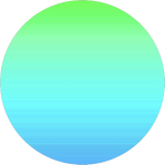 Circle Png Tumblr Background Astethic Kpop Colorful - Circle, Transparent Png
