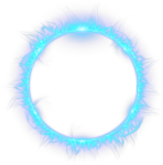 Blue Combustion Fire Light Flame Circle Clipart - Circle, HD Png Download