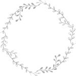 #freetoedit#tumblr #remixit #aesthetic #circle #remixit - Transparent Background Wreath Clipart Black And White, HD Png Download