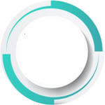 #tag #label #frame #circle #round #ppt #white #decoration - Circle, HD Png Download