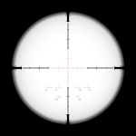Sniper Scope Crosshairs - Circle, HD Png Download