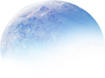Overlay Sky Luna Png Aesthetic Icon Moon Tumblr Circle, Transparent Png