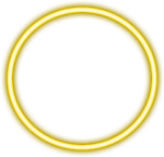 #yellow #neon #circle #border #png #freetoedit - Body Jewelry, Transparent Png