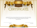 Certificate Png Picture - Background Design For Certificate, Transparent Png