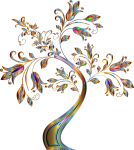 This Free Icons Png Design Of Floral Tree Supplemental - Flower Border Lines Design Png, Transparent Png