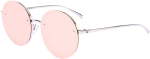 Design Product Goggles Sunglasses Free Download Image - Reflective Pink Sunglasses Round, HD Png Download
