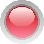 This Free Icons Png Design Of Led Circle Red - Led Green Red Icon, Transparent Png