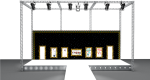 3d Stage Design, HD Png Download