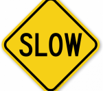 Printable Traffic Signs Free Traffic Signs Design Your - Road Signs Slow, HD Png Download