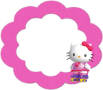 Hellokitty Png - Hello Kitty Frame Design, Transparent Png