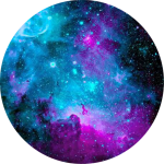 #galaxy #circle #background ✨ #freetoedit - Tosca Galaxy, HD Png Download