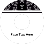 Be The Buzz With This Honey Bee Template - Circle, HD Png Download