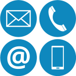 Contact Us Icons 2 Copy - Mail Symbol, HD Png Download