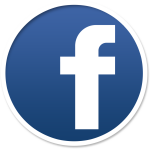 Facebook Circle Icon - Facebook Icon Png Brown, Transparent Png