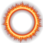 Fire Png Image - Fire Circle Logo Png, Transparent Png