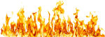 Transparent Background Fire Clipart, HD Png Download